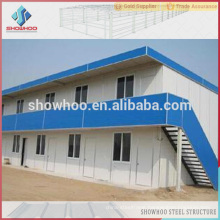 philippines low cost industrial designs two-storey steel structure houses prefabricated